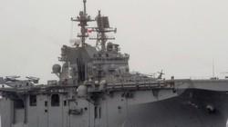 TQ đóng siêu tàu tấn công đổ bộ trực thăng lớn nhất