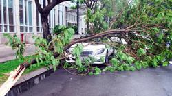 Sài Gòn mưa gió, sấm sét đùng đùng giữa mùa khô