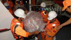 Chìm tàu trên biển Vũng Tàu: Thi thể thuyền viên đầu tiên đã vào đất liền