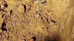 Đào móng xây nhà, phát hiện 7 quả đạn pháo nằm dày đặc