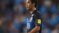 """Clip Kagawa """"làm xiếc"""" trước 3 hậu vệ, ghi bàn vào lưới Thái Lan"""