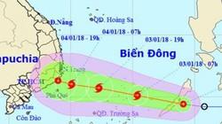 Dự báo thời tiết hôm nay (3.1): Bão số 1 đang đi thẳng vào biển Đông, gió giật cấp 10, Bắc Bộ mưa rét 13 độ C