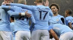 """Sterling """"nổ súng"""" phút thứ 1, Man City đại thắng"""