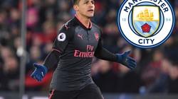 """NÓNG: Arsenal rao bán Alexis Sanchez với giá """"bèo"""" cho Man City"""