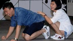 NSND Ngọc Giàu làm vợ Hoài Linh trên sân khấu