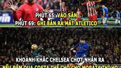 ẢNH CHẾ HÔM NAY (4.1): Morata đua đòi Lukaku, Chelsea nhớ Costa