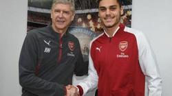 """Trung vệ """"khổng lồ"""" nói gì khi chính thức gia nhập Arsenal?"""
