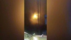 Video: Ánh sáng lạ giữa đêm như người ngoài hành tinh đổ bộ