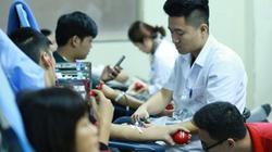 Hà Nội: Hàng dài người nhóm máu O đổ về Viện Huyết học hiến máu