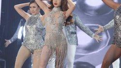 Giang Hồng Ngọc lột đồ trên sân khấu Hoa hậu Hoàn vũ Việt Nam