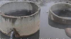 Cặp giếng nước nóng giữa cánh đồng ở Quảng Ngãi