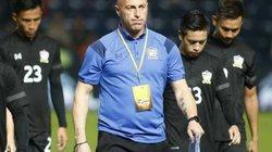 """HLV U23 Thái Lan """"chém gió"""" và cú sốc đầu tiên"""