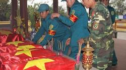11 hài cốt liệt sĩ được tìm thấy bên bờ sông Thạch Hãn