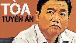 Ông Đinh La Thăng bị tuyên phạt 13 năm tù, bồi thường 30 tỷ đồng