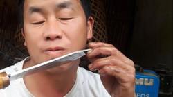 Trưởng bản người Mông có biệt tài rèn dao như xiếc, kiếm bộn tiền