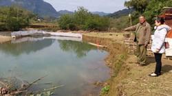 Độc đáo: Ngăn sông...nuôi cá, khấm khá mấy hồi