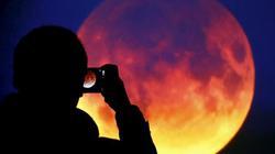 150 năm có 1 lần: Siêu trăng, trăng xanh, trăng máu dồn vào một ngày