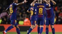 BXH, kết quả bóng đá đêm 28.1, rạng sáng 29.1: Barcelona băng băng về đích