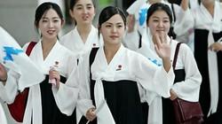 Đội quân mỹ nữ Triều Tiên cổ vũ cho cả Hàn Quốc ở Olympic