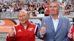 PV Hàn Quốc hỏi, HLV Park Hang-seo trả lời bất ngờ về Guus Hiddink