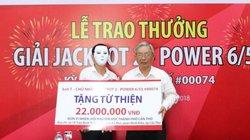 Kết quả Vietlott ngày 4.2: Giải Jackpot 22 tỷ vẫn chờ chủ nhân