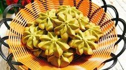 Đãi khách tới nhà với bánh quy trà xanh giòn xốp, thơm lừng hương matcha