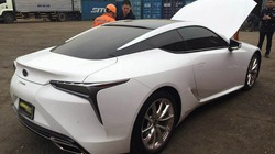 """Hàng """"nóng"""" Lexus LC500h vừa về Việt Nam đón Tết"""