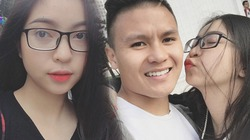 Bạn gái Quang Hải, Duy Mạnh được dân mạng khen ngợi hết lời