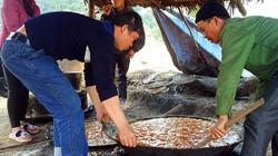 Chùm ảnh: Làng mía đường trăm năm tuổi xứ Lạng rực lửa ngày cận Tết