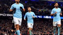 """Aguero lập """"cú poker"""", Man City hủy diệt Leicester"""