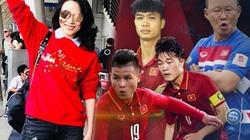 Mỹ Tâm hát cùng U23 Việt Nam tại TP.HCM
