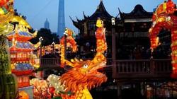 Video: Các thành phố Trung Quốc lung linh đón tết
