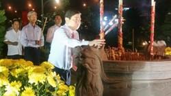 TP.HCM: Dâng hương tưởng niệm chiến sĩ hy sinh tại cầu Rạch Chiếc