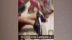Khoảnh khắc kinh hoàng kẻ thảm sát vào phòng học nã đạn ở Mỹ