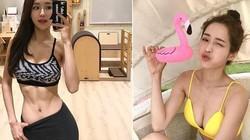 Vóc dáng vạn người mê của nữ huấn luyện viên thể hình đẹp nhẩt Hàn Quốc