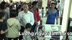 Hàng nghìn người đổ xô làm hộ chiếu đầu năm ở TP.HCM