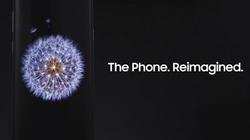 """Rò rỉ  video quảng cáo đầu tiên về Galaxy S9 trước giờ """"trình làng"""""""
