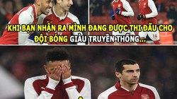 """ẢNH CHẾ HÔM NAY (26.2): Arsenal có truyền thống """"buông"""", Chelsea nhỏ bé"""