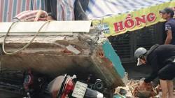 """Mảng bê tông nặng cả tấn từ """"trên trời"""" rơi xuống, nhiều người tháo chạy"""