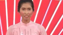 Cô gái thắng 100 triệu nhờ 1 câu hát vào gala Thách thức danh hài