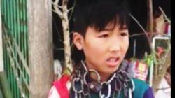 """Sự thật về clip cháu bé bị """"xích cổ"""" ở Thanh Hóa"""