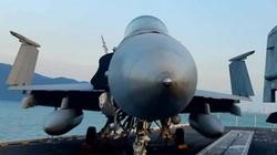 Đã mắt ngắm dàn chiến đấu cơ tối tân trên tàu sân bay Mỹ