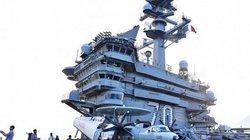 Mở tiệc chiêu đãi trên tàu sân bay USS Carl Vinson tối nay