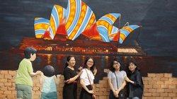 Giới trẻ rộn ràng check-in làng bức họa mới toanh ở Đồng Tháp