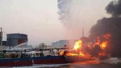 Hải Phòng: Cháy tàu dầu 2.000 tấn khi đang tiếp dầu
