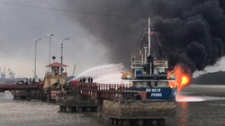Hải Phòng thông tin chính thức về vụ cháy tại tàu Hải Hà 18