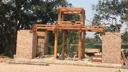 Chùa Bổ Đà xây cổng tam quan mới: Đại diện Bộ VHTTDL nói gì?