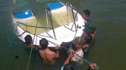 Quảng Nam: Tàu vận tải đâm chìm tàu cá trong đêm