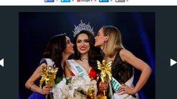 Ảnh Hương Giang Idol tràn ngập trên các trang báo quốc tế