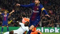 """Clip: Messi lập cú đúp, Barca """"chôn vùi"""" Chelsea"""